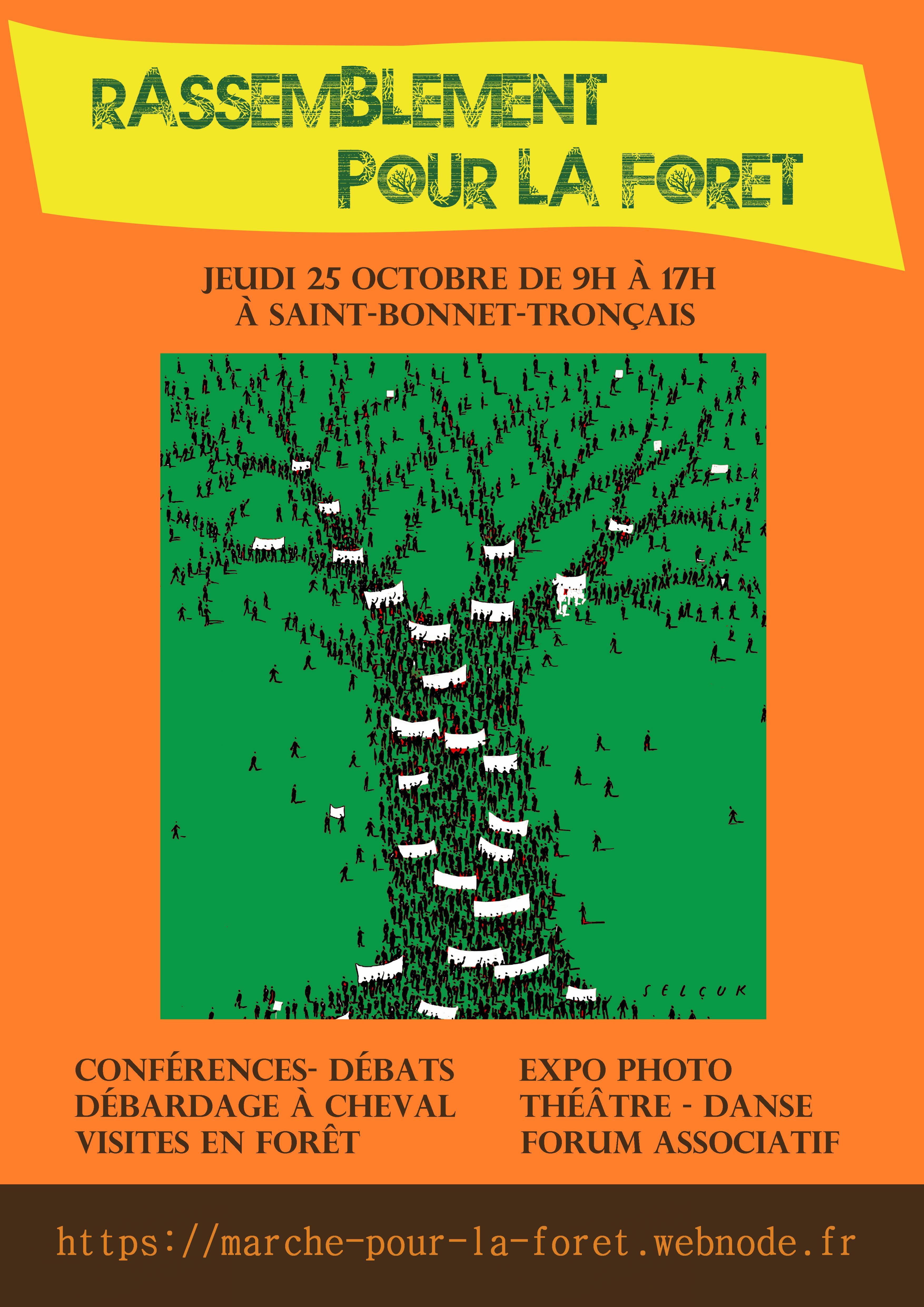 Rassemblement pour la forêt 25 octobre