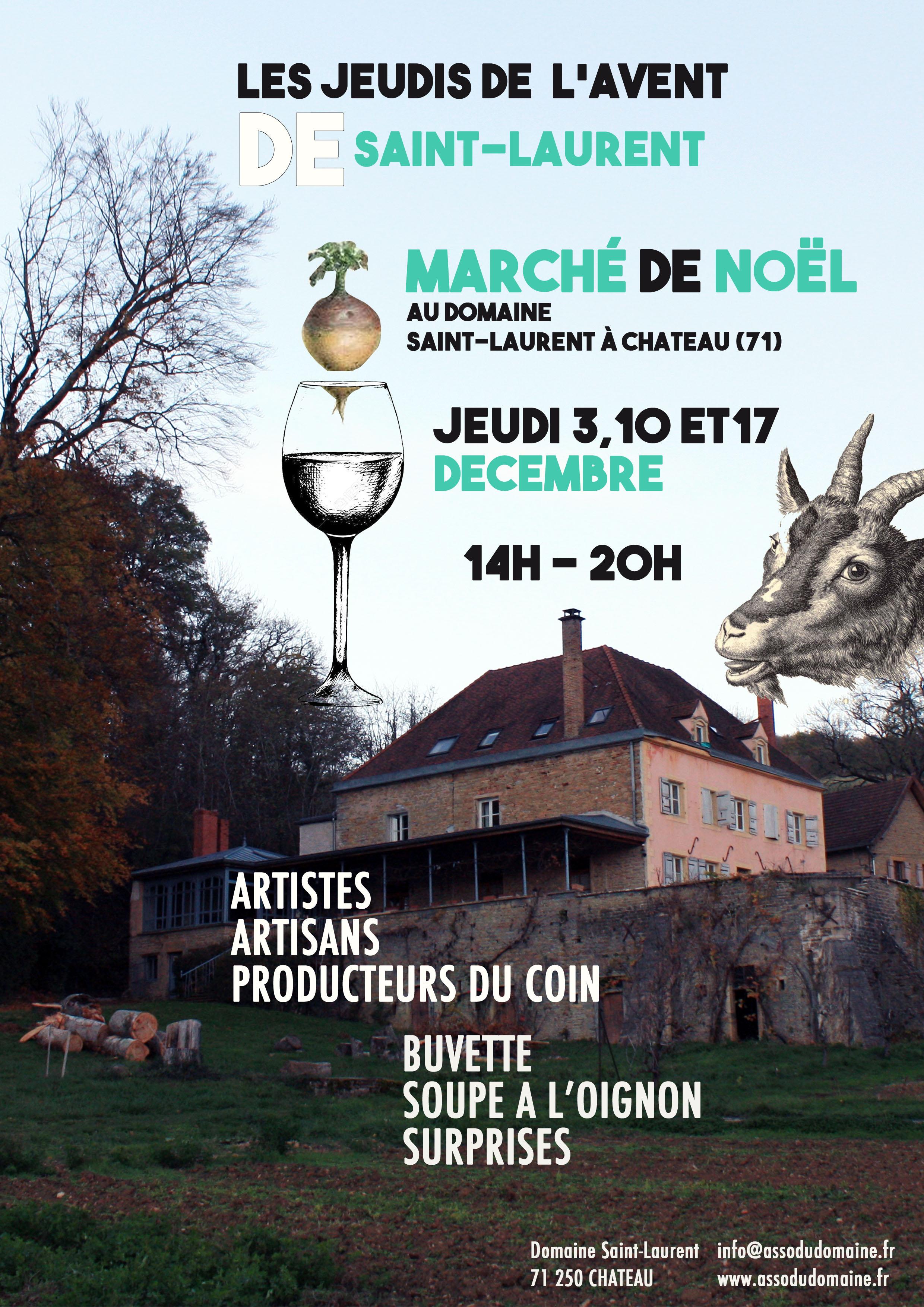 Les Jeudis de l'Avent au Domaine Saint Laurent